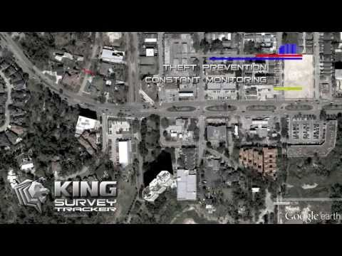 King Survey Tracker video
