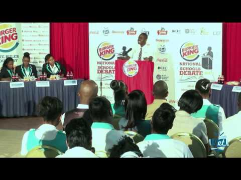 Jamaica Education Television National Debate Semi 1