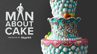 Hand Painted Hero Cake Inspired By Margaret Braun | JJR Pays Homage to His Cake Hero