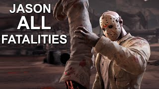 Mortal Kombat X Jason Voorhees All Fatalities Mortal Kombat X Gameplay