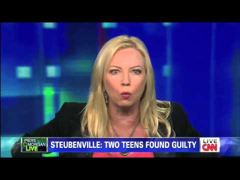 Actress Traci Lords On piers Morgan Live: The Steubenville Rape Trial Verdict 3 18 13 video