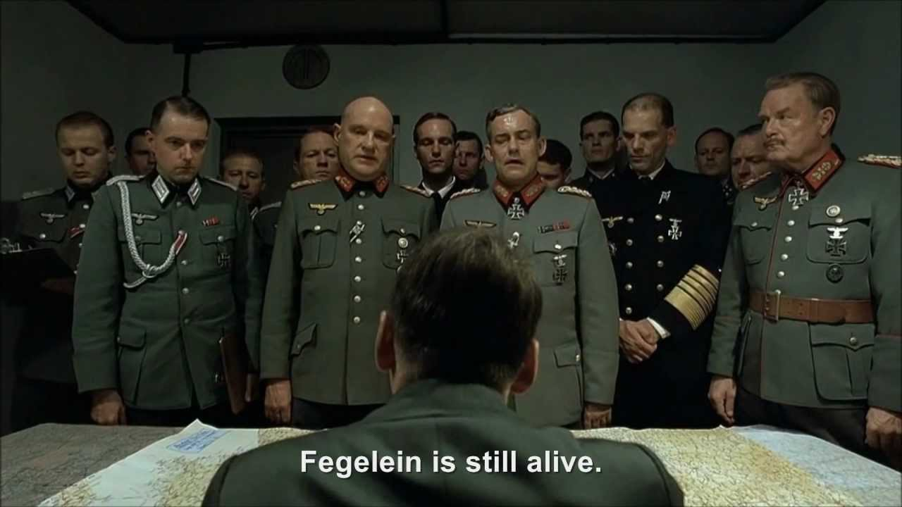 Hitler gets Blondi to try and kill Fegelein