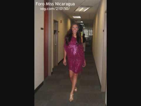 indiana sanchez ... miss nicaragua.