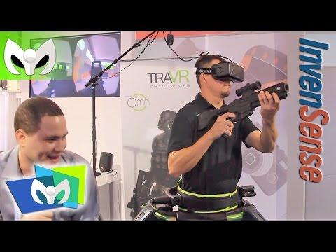 Juega en Realidad Virtual - TraVR de InvenSense #CES2015