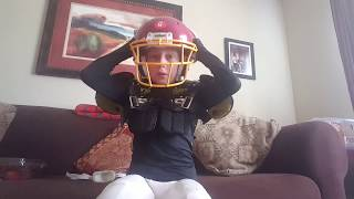 How to put on football gear