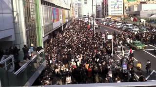 Japan Vlog - Shinjuku - Earthquake 9.0