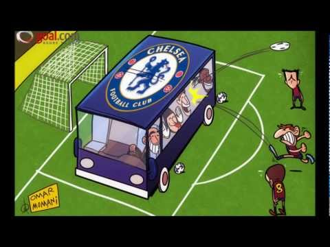 Barcelona 2-2 Chelsea (24th Apr 2012 UEFA Champions League)  Highlights HD
