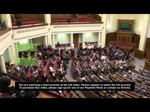 Ukraine: Speaker Turchynov voted in as acting president by Rada
