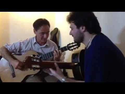 Antonio Mascolo and Ricardo Moyano: jam session inÄ°stanbul