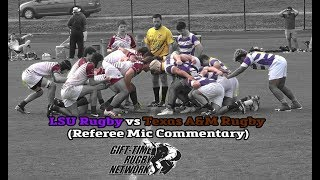 LSU Rugby vs Texas A&M Rugby (Spring 2019)