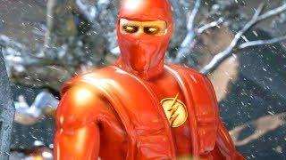 Mortal Kombat XL - All Klassic Fatalities on Nth Metal The Flash Ermac Costume Mod 4K Gameplay Mods
