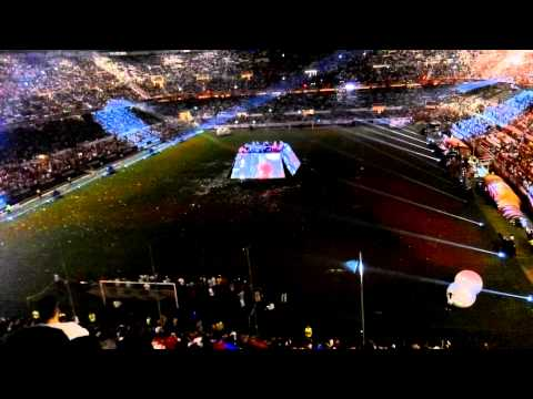 Celebración UEfa 2015 Sevilla - Unai Emery coge el micro