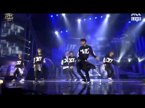 Exo - Intro + Growl  28th Golden Disk Awards 140116 video