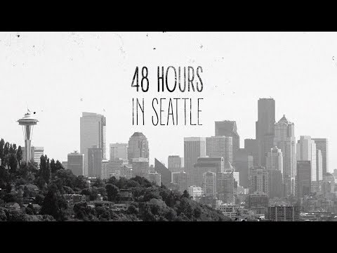 Menu Skate shop // 48 Hours in Seattle