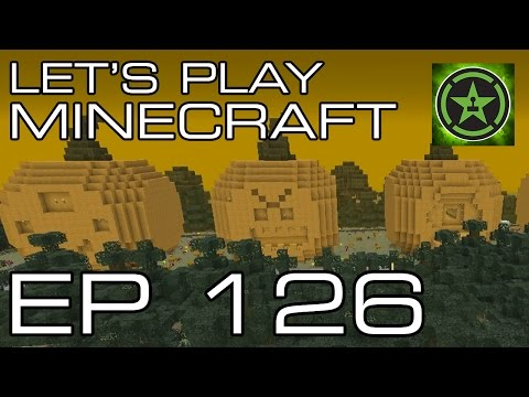 Let's Play Minecraft - Episode 126 - Halloween Spooktacular Part 1