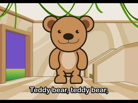 Muffin Songs - Teddy Bear   | nursery rhymes & children songs with lyrics |