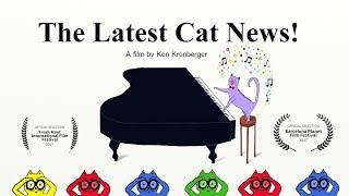 'The Latest Cat News!'  by Ken Kronberger