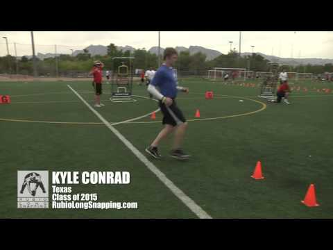 Kyle Conrad - Long Snapper