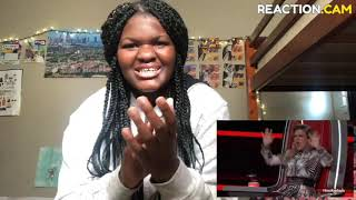 """Sandyredd Covers """"Dangerous Woman"""" On The Voice 2018!! Reaction Video! I Was Shook"""