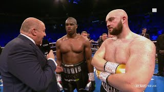 This is class! Daniel Dubois and Nathan Gorman show respect during joint interview