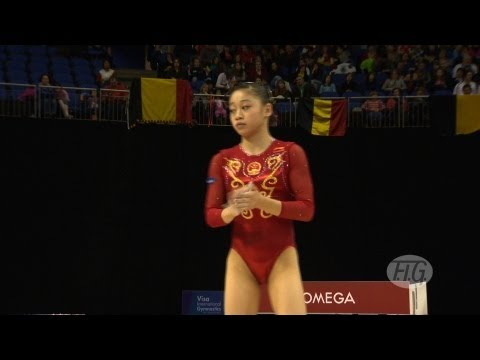 Olympic Qualifications London 2012 -- SUI Lu (CHN) - BB