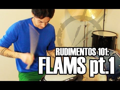 RUDIMENTOS 101: Flams pt. 1