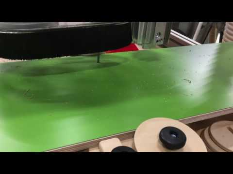 CNC BoxBeams/Workbench for Festool clamping elements