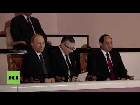 Egypt: Putin and Sisi take in Cairo Opera ahead of bilateral talks