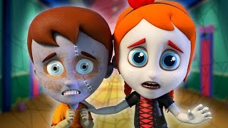 🔴 Halloween Songs For Kids | Schoolies Cartoons | Nursery Rhymes + More Baby Songs