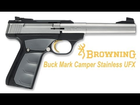 Browning Buck Mark Camper Stainless UFX Review