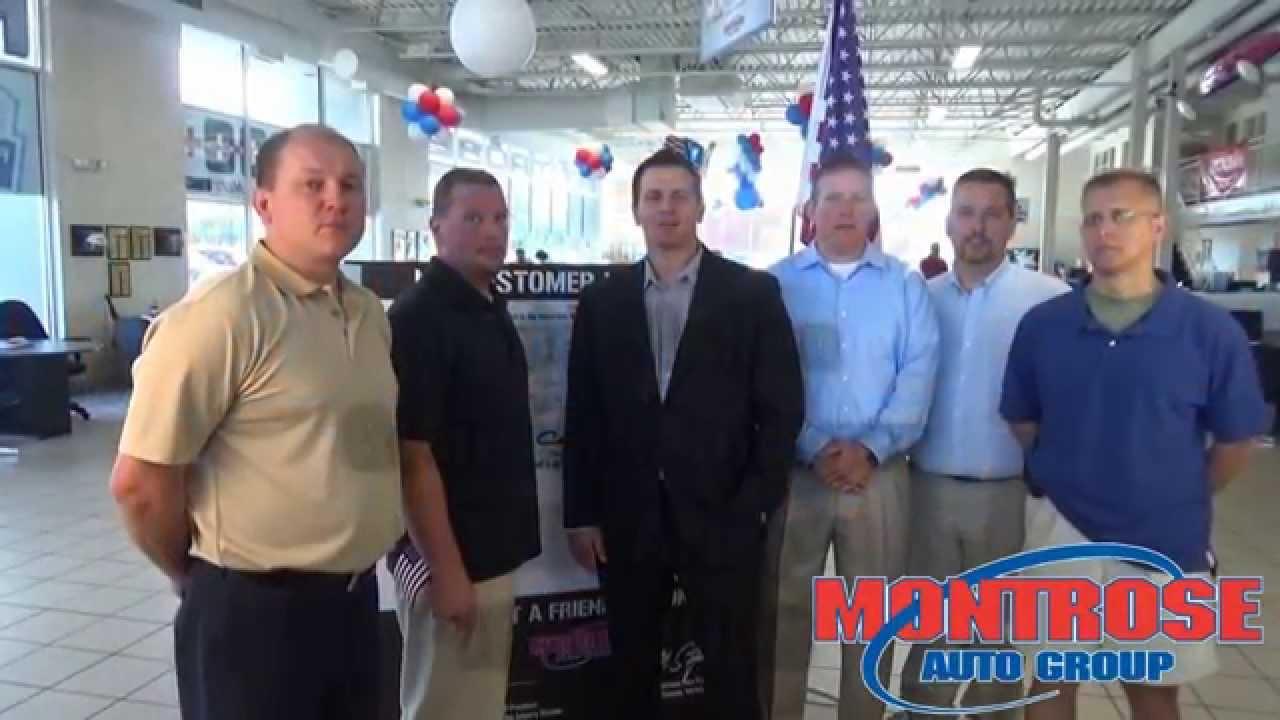 Montrose gm superstore employee veterans youtube for Montrose motors montrose pa