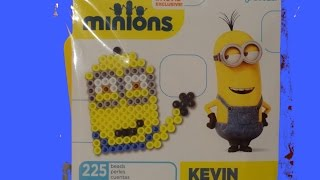 Minions Perler Fused Bead Kit Kevin Toy From Minions the Movie 2015 - Les Minions 2015 3