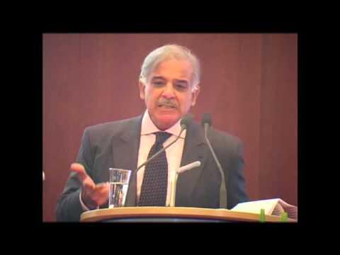 shahbaz sharif speech in german