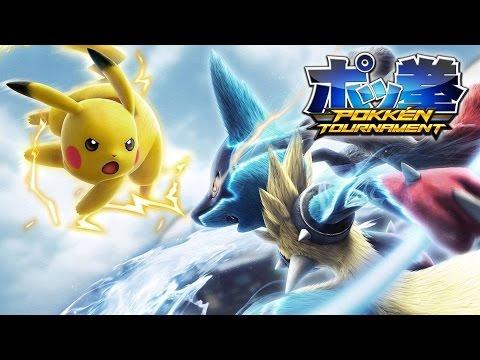 Pokken Tournament Review / Análisis Videojuego (Wii U) Pokemon + Tekken