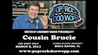"Cousin Brucie hosts ""Pop, Rock & Doo Wopp Live!"" - March 8, 2013"