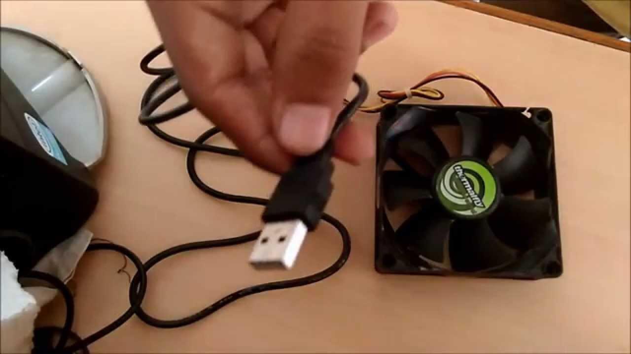 Как из кулера сделать вентилятор через usb 493