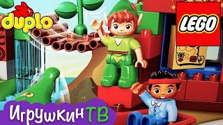 Лего Дупло игрушка Джейк и пираты Нетландии. Jake never and pirates