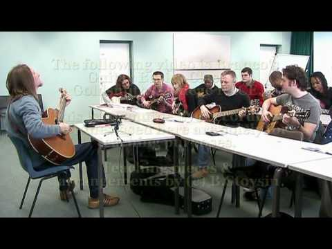 Branco Stoysin Guitar Basics class Goldsmiths College c B.Stoysin.mpg