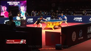 Ma Long vs Tomokazu Harimoto | 1/2 | China Open 2019 (Private Video)