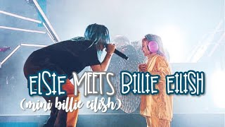 "ELSIE (AKA ""MINI BILLIE EILISH"") MEETS BILLIE EILISH - CONCERT VLOG"