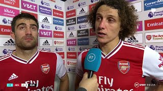 Fascinating David Luiz interview after Arsenal beat Manchester United