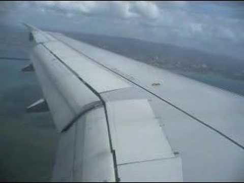 Landing @ Mactan-Cebu International Airport