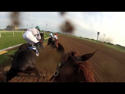 Jockey Cam: GoPro Camera on Horse Jockey