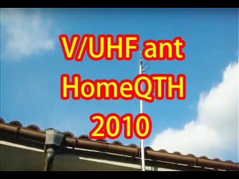 Antenna V/UHF for my new home QTH