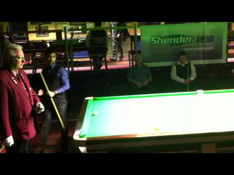 Pankaj Advani 2012 Billiards World Championship 20-10-12 part 1