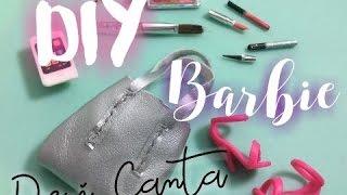 DIY Barbie Deri Çanta | Barbie Bag