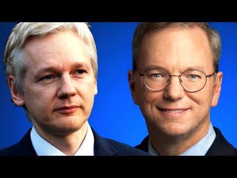 Julian Assange Interviewed By Google's Eric Schmidt