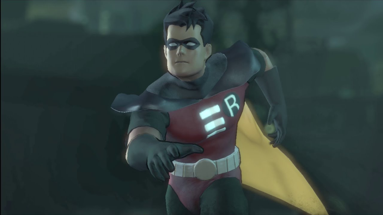 Batman: Arkham City - ANIMATED ROBIN costume skin (Combat ...