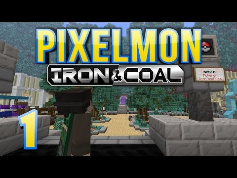 Pixelmon: Iron & Coal - Episode 1 - I Choose You!
