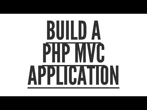 Build a PHP MVC Application: Structure (Part 2/9)